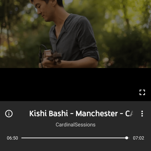 Google Play to YouTube Screenshot