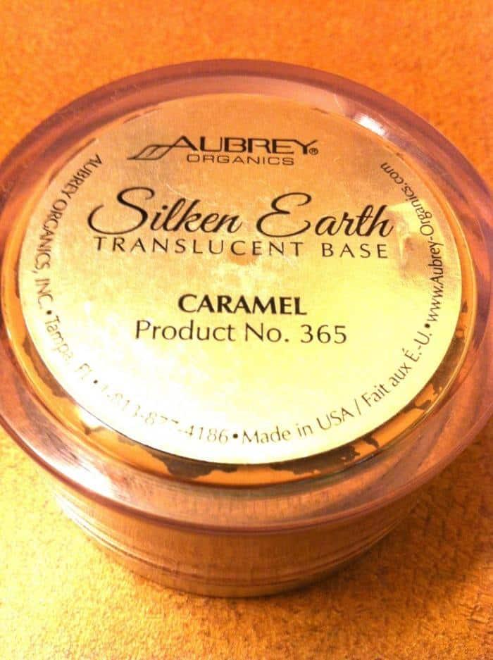 Aubrey Organics Foundation Powder Makeup Review silken earth translucent base