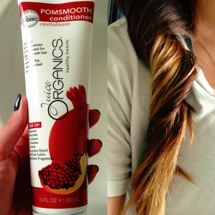 Juice Beauty Organic haircare pom smooth conditioner