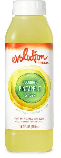 evolution cucumber pineapple ginger