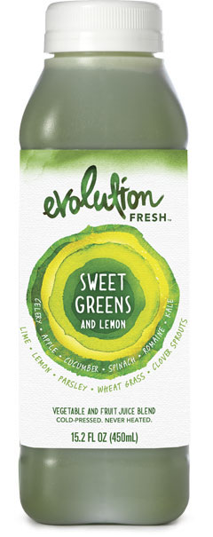 evolution sweet greens and lemon