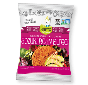 hilary's eat well review adzuki bean burger