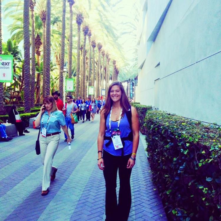 2015 Expo West Photo Recap anaheim convention center blogger