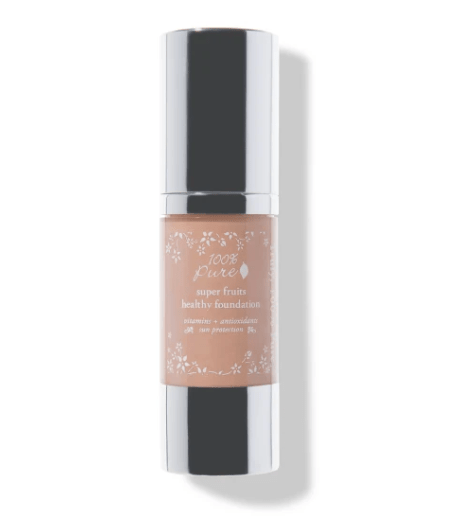100 percent pure fruit pigmented healthy foundation