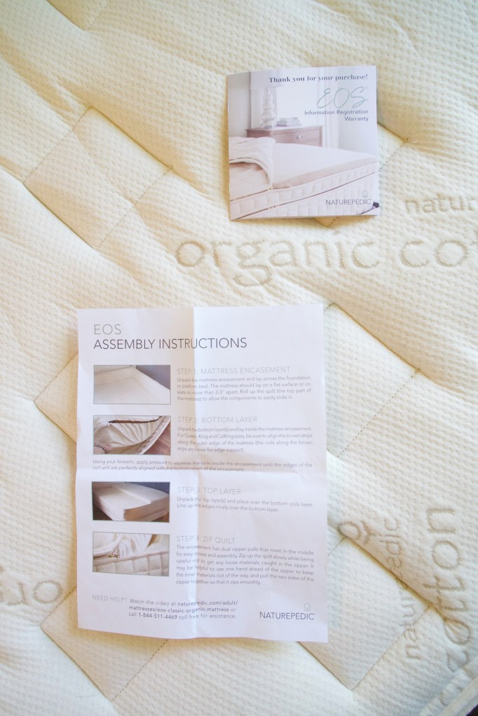 naturepedic mattress EOS classic organic