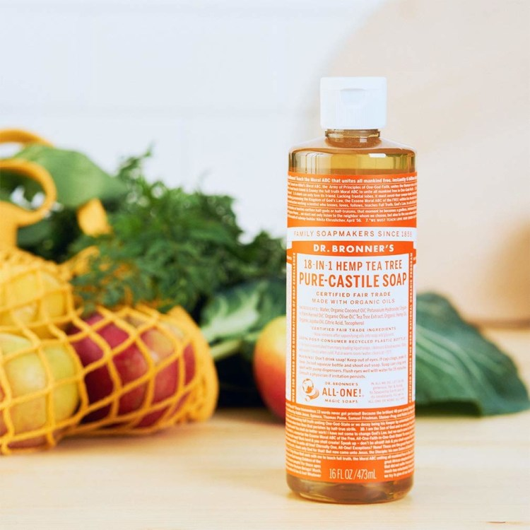 dr bronner castile soap green home cleaner products