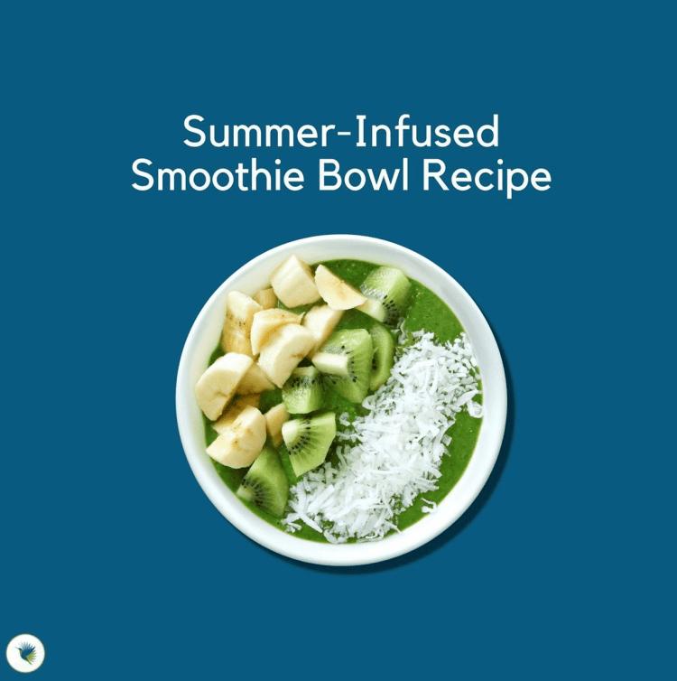 seeking health summer smoothie bowl recipe