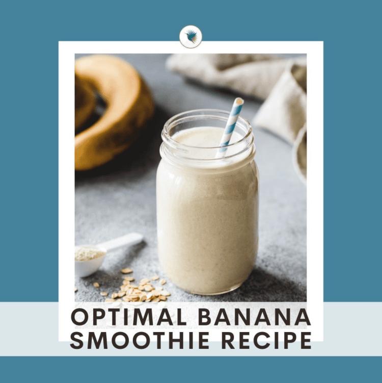 seeking health banana smoothie recipe