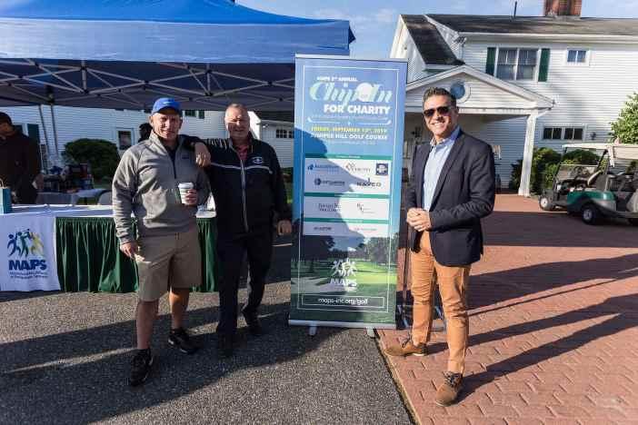 MAPS Golf Tournament - Rui Domingos, Walter Sousa and Paulo Pinto, MPA