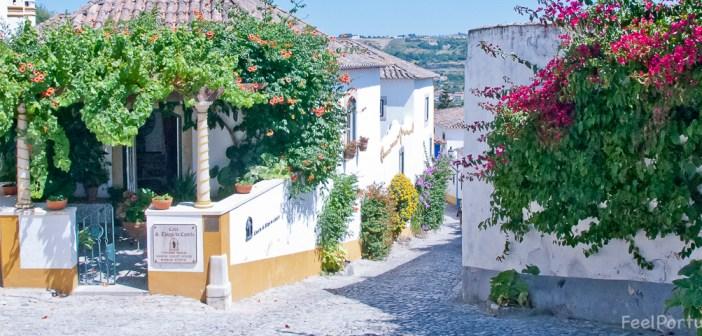 "ÓBIDOS: ""Rua Direita"" on the list of ""breathtaking"" places…"