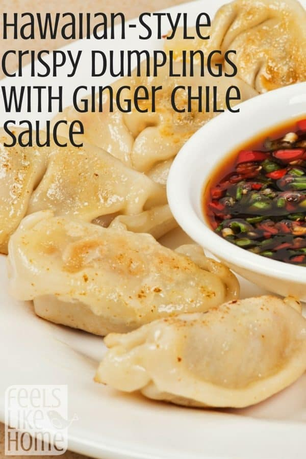 These Hawaiian-style dumplings are SO GOOD! You will want to me them for dinner TONIGHT!