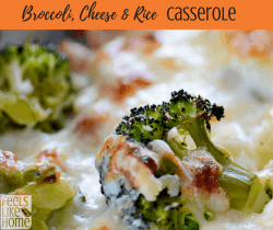 The best broccoli, cheese & rice casserole recipe - This simple and easy side dish recipe uses Velveeta to make a rich and creamy casserole. Use fresh or frozen broccoli and bake.