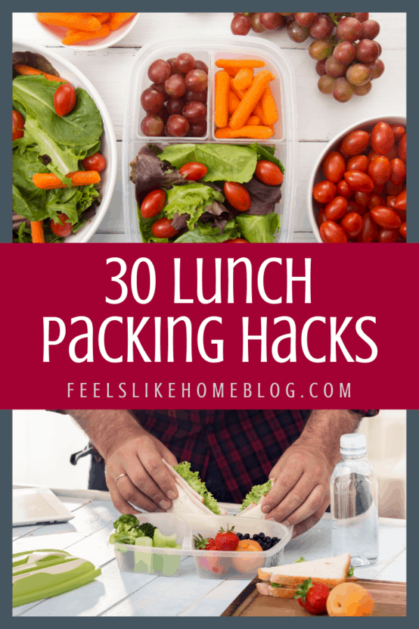 packing a sandwich and packed veggies