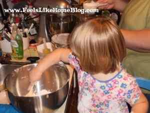 grace chocolate candy corn cookies
