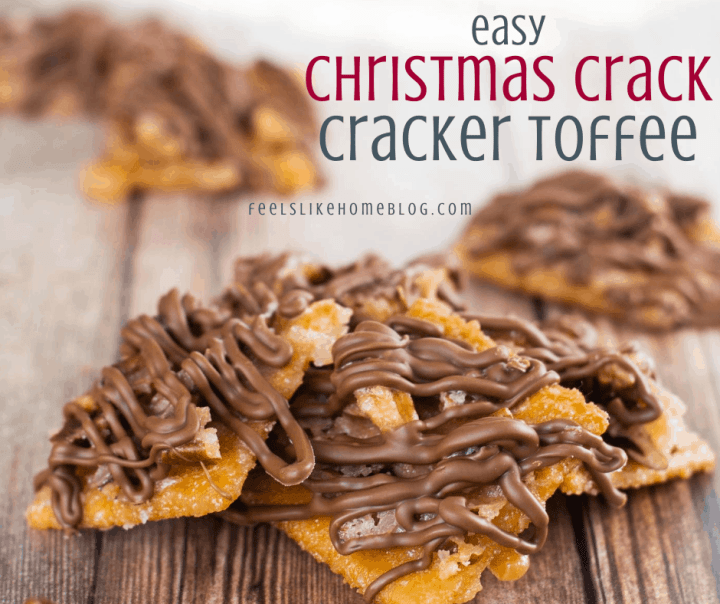 Christmas cracker candy on a wooden table