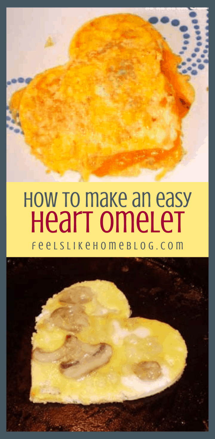 How to Make a Heart-Shaped Omelet for Your Valentine