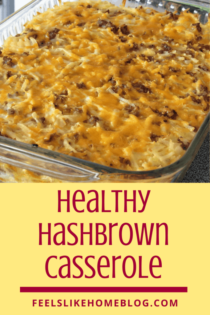 A casserole, with Weight Watchers and Hash browns