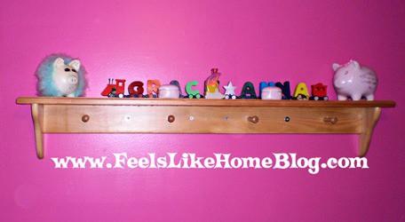 Grace's shelf