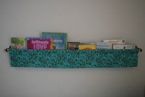 hanging book display