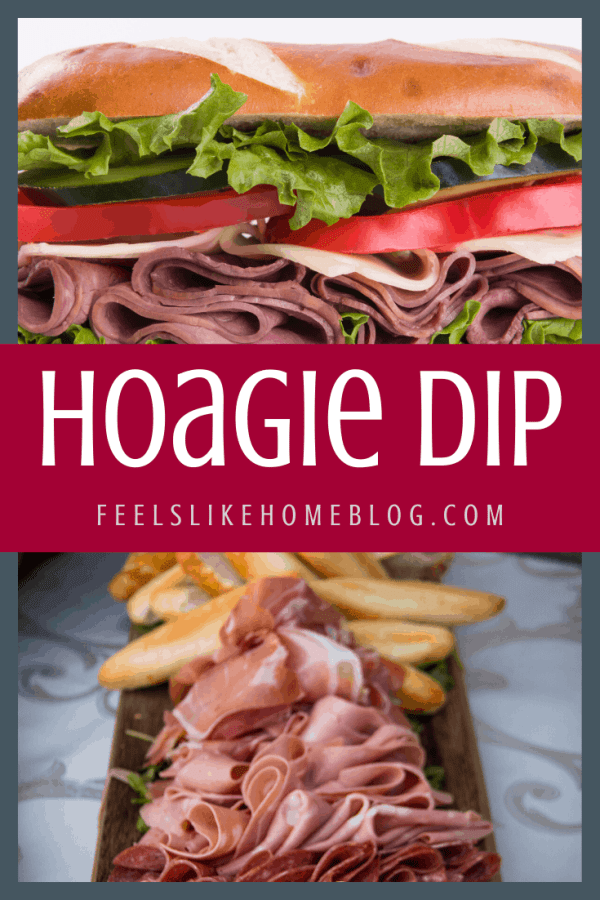 A hoagie sandwich with meat and vegetables