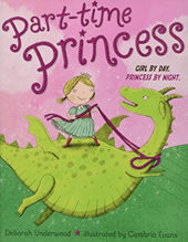 The cover of a picture book about princess