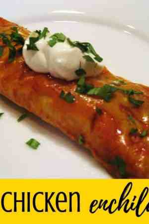 The best BBQ chicken enchiladas. These are so simple and easy, but so amazing!