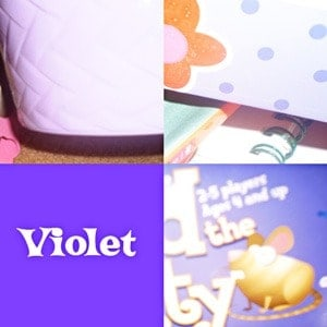 Photos of violet items