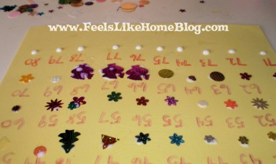 preschool counting craft