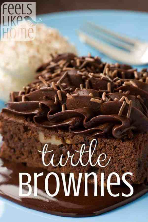 These are the BEST BROWNIES EVER! They are so rich and decadent that you will only be able to eat a small piece!
