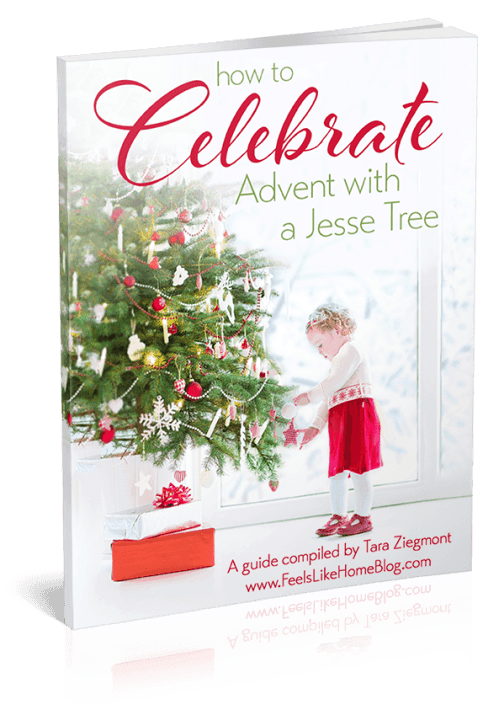 How to Make a Jesse Tree for Advent this year - This FREE printable devotional ebook includes tips and ideas for crafts and felt ornaments and even printable ornaments! You can DIY your own tree or buy a tree. Includes scriptures and verses, songs, Bible readings, everything you need to learn about Jesus this year. Written for kids but perfect for the whole family!