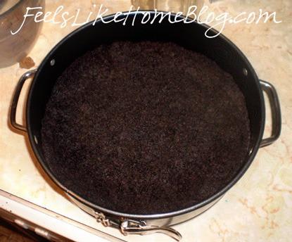 Chocolate Cherry Cheesecake Crust