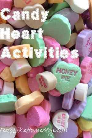 candy heart activities