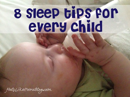 8 sleep tips for every child