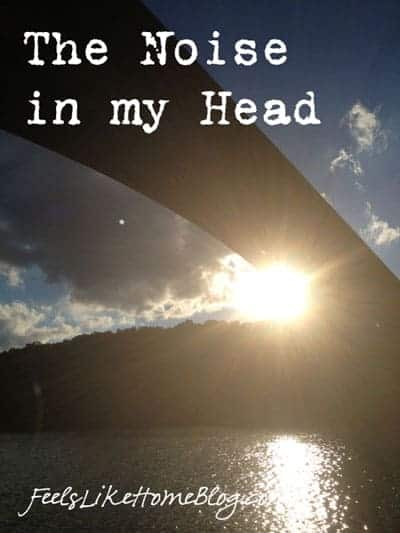 The sun under a bridge
