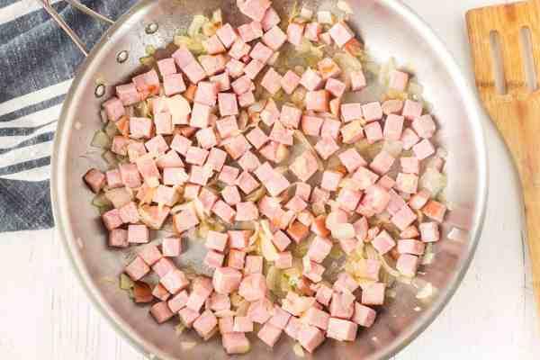 ham and onions