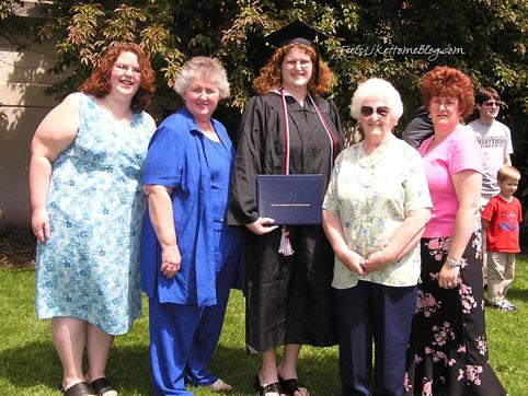 Tara Ziegmont and her family