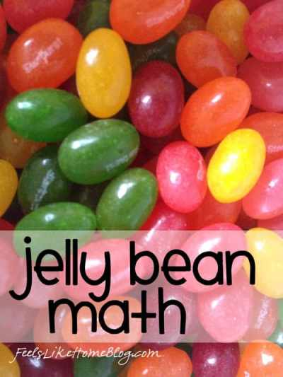 Jelly Bean Math - Great learning activities for kids of any age including preschool, kindergarten, first grade, and second grade. Includes free printables. Fun way to learn math concepts like sorting, graphing, addition, subtraction, and even probability. Great ideas for teachers in classrooms or at home.