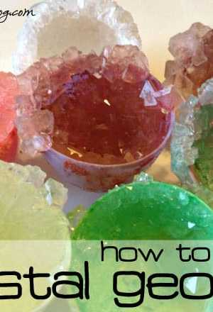 How to Grow Your Own Crystal Geodes - Cool Science Experiment for Kids