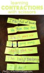 Hands-on Contractions Activity
