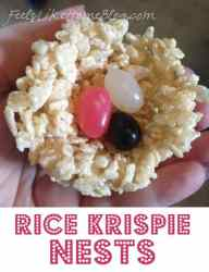 How to Make Rice Krispie Nests