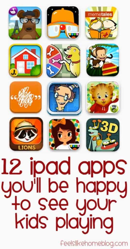 The best iPad apps for kids especially toddlers, preschoolers, and kindergarten - Most of these educational and learning apps are free, but a few are paid or have in-app purchases. No ads. Great technology and mobile learning for children. Can be used in the classroom or homeschool. Lots of fun activities and tools.