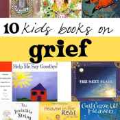10 kids books on grief