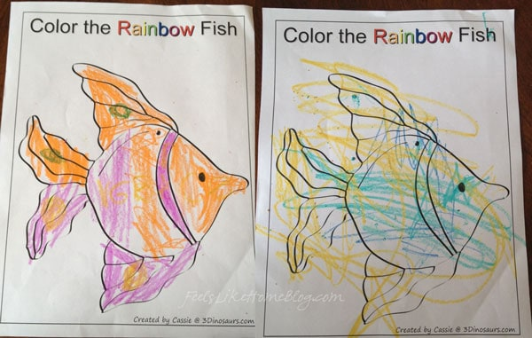 Activities for The Rainbow Fish by Marcus Pfister