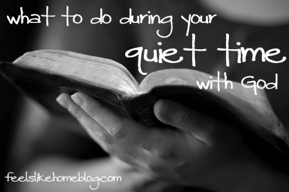 What to do during your quiet time with God - Ideas, tips, and suggestions for making time for Bible study and reading and prayer even with children. Words with Jesus are important for building faith in your life and quiet time is the perfect time for this to happen. Time with the Lord God is vital to the Christian walk.