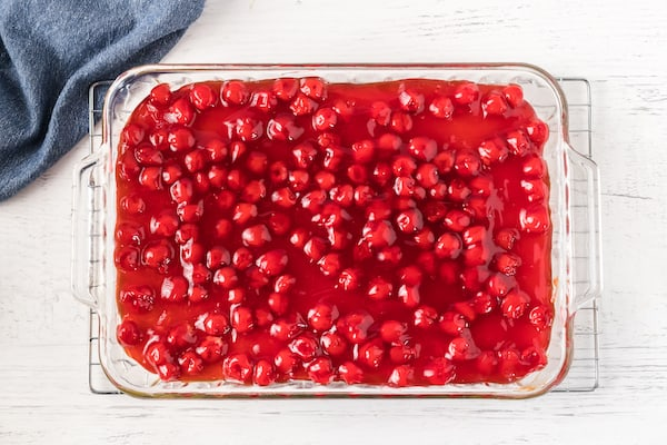 gluten free cherry almond cake