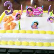 My Second Child's Third Birthday Party