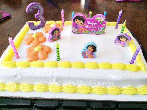 Dora Christmas Cake Games