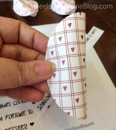 Fortune Cookie Valentines with Fortunes