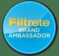 Filtrete Brand Ambassador Badge
