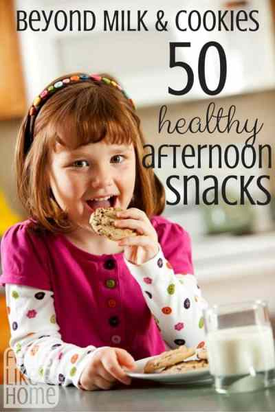 Quick, easy, and healthy ideas for after school snacks for your kids and teens! Include protein and carbs for a quick burst of energy that keeps them full all the way until dinner.